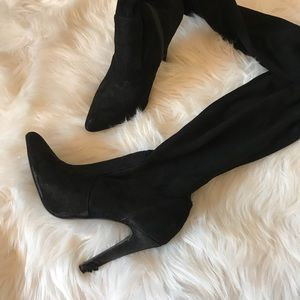 Black Forever 21 Pointed Toe Boots